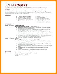 resume sample summary statement resume sample may download x