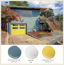 color of the month sunny yellow a split level ranch goes for the