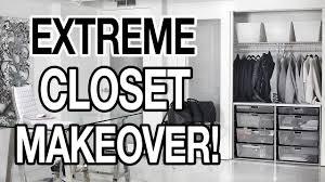 extreme closet makeover youtube