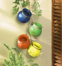 fiesta hanging pots wholesale at koehler home decor