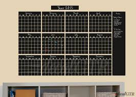 Chalkboard Decal Year Calendar C034 U2013 Stampmagick Wall Decals