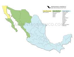 map of time zones usa and mexico time zone map mexico mexico map