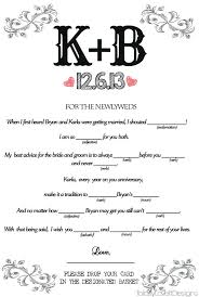 wedding mad libs template comfortable bridal mad libs template contemporary exle resume