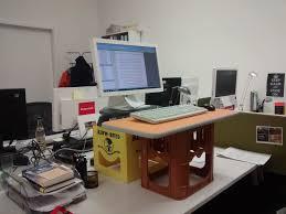 Diy Standing Desk Introducing The Diy Standing Desk Ir
