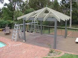 Steel Pergola Kits by Gazebo Roof U0026 How To Build A Gazebo Roof