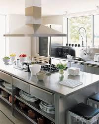 Stainless Kitchen Islands Decor Kitchens Design Ideas