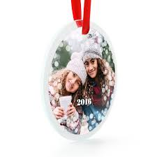 glass photo ornament ornaments and decor gifts