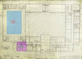 prison floor plan new mexico state prison old main blueprints