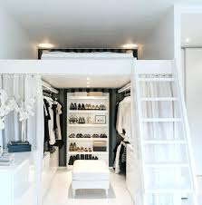bed in closet ideas bed closet custom bed transforms bedroom to office platform bed with