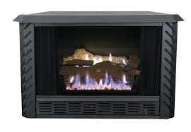 ashley hearth vent free propane fireplace insert u0026 reviews wayfair