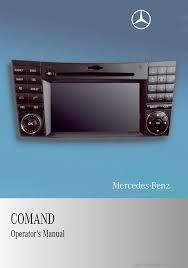 mercedes benz m class 2009 w164 comand manual