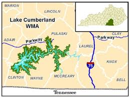 lake cumberland map kentucky department of fish and wildlife resources