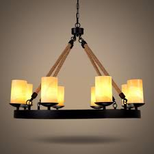 Amber Chandelier Industrial Dining Room 8 Light Large Chandelier In Black