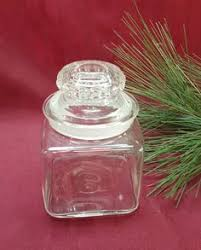 large clear glass cookie jar with lid perfect storage jar