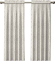Sheer Curtains Tab Top Zipcode Design Zephyrine Damask Semi Sheer Rod Pocket And Tab Top