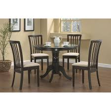 Pedestal Dining Room Sets by Coaster Furniture 101081 Brannan Round Single Pedestal Dining