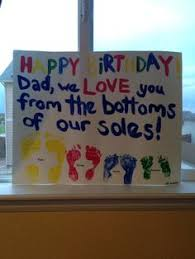 homemade birthday cards for dad from toddler google search
