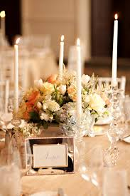 candle centerpieces wedding yellow taper candle centerpiece elizabeth