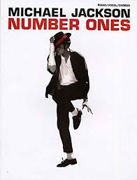 michael jackson number ones piano vocal chords pvg michael