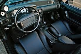 fox mustang seats 1993 custom ford mustang fox saleen influenced seats interior