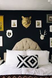 Black Painted Walls Bedroom 30 Best Black Paint Images On Pinterest Black Walls Blue And
