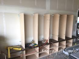 Mudroom Dimensions Keeping It Simple Diy Garage Mudroom Lockers With Lots Of Storage