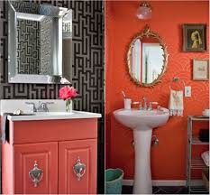 bathroom 1 bathroom in shades of coral tropical bathroom ideas