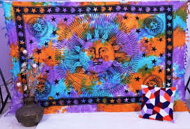 Wall Tapestry Urban Outfitters by Sun And Moon Tapestry Urban Outfitters Tie Dye Tapestry Sun Moon