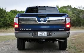nissan platinum truck 2017 nissan titan platinum reserve 4x4 test drive review