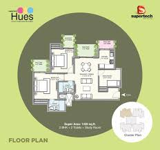Cluster House Plans Supertech Hues Sector 68 Sohna Road Gurgaon 9953589201