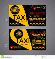 taxi service business card layout template create your own
