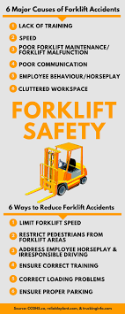 6 major causes of forklift accidents material handling n more
