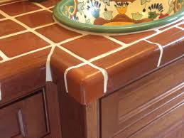 bathroom countertop mexican tile designs