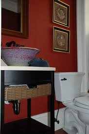 Red And Black Bathroom Accessories by 31 Best Bathroom Paint Choices Images On Pinterest Red Bathrooms