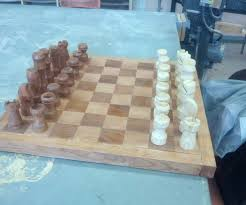 diy chess board 7 steps with pictures