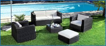 canape jardin resine tressee génial salon jardin résine tressée pas cher galerie de jardin