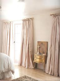 Beige And Pink Curtains Decorating Fancy Silk Curtains Decorating With Curtain Fabric Plain