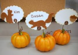 56 best place card ideas images on diy thanksgiving