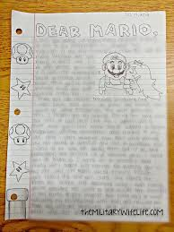 writing a math paper 5 creative letters to write to your loved one in boot camp the dear 2bmario
