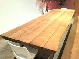 Oak Top Dining Table Plank Dining Table Plank Coffee Table Fit For Living Room X Dining