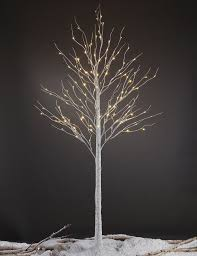 lightshare 8ft 132 led birch tree home festival