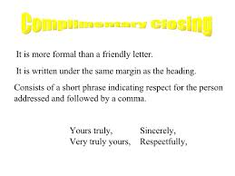 complimentary closings for business letters 28 images