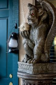 flickering light bulb halloween spooky halloween decorations for you front door