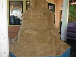Backyard Sand Sand Castle At Entrance Picture Of Louie U0027s Backyard South Padre