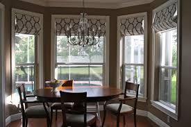 Window Treatment For Dining Room Custom Roman Shades Dining Room Ideas Special Custom Roman