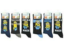 Minion Socks Adults Men U0027s Ankle Socks Ebay