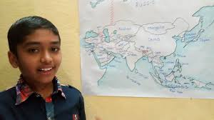 Asia Countries Map by Countries Of Asia Easy Way To Learn Learn With Amar Youtube