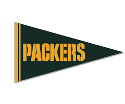 Green Bay Packer Flag Seteamshop Green Bay Packers Felt Pennant Magnet 25