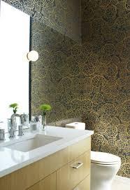 36 best bathroom wallpaper images on pinterest bathroom