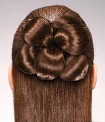 flower hair bun 74 best flower hair images on flower girl